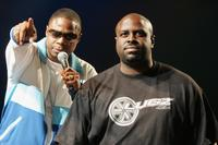 Doug E. Fresh and Funkmaster Flex at the Playstation 2 And The Hip-Hop Summit Present