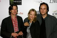 Director James Marsh, Pell James and Milo Addica at the after party of the premiere of
