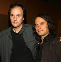 Milo Addica and Gael Garcia Bernal at the after party of the premiere of