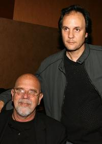 Chuck Close and Milo Addica at the after party of the premiere of