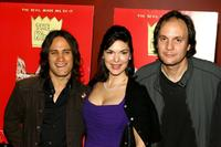 Gael Garcia Bernal, Laura Herring and Milo Addica at the premiere of