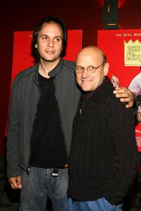 Milo Addica and Ed Pressman at the premiere of