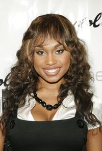 Angell Conwell at the Pre-BET Awards party.