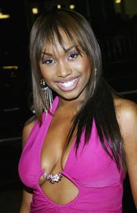 Angell Conwell at the premiere of
