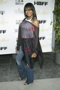 Shari Watson at the premiere of