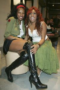 Shari Watson and Sicily Sewell at the Mercedes Benz Fashion Week and City of Hope