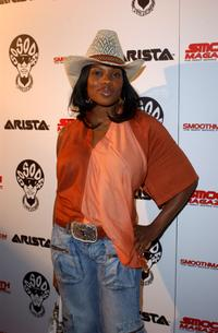 Shari Watson at the Smooth Pre-BET party.