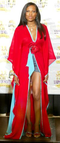 Shari Watson at the 8th Annual Soul Train Lady of Soul Awards.