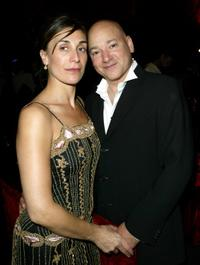 Elisa Appi and Evan Handler at the 56th Annual Primetime Emmy Awards.