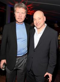 Simon Hutchins and Evan Handler at the cocktail reception to celebrate the Academy Award nominated documentary