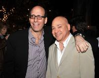 Matt Blank and Evan Handler at the Showtime's farewell party for