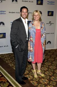 Rob Morrow and his wife Debbon Ayer at the 5th Annual Project A.L.S. Benefit Gala.