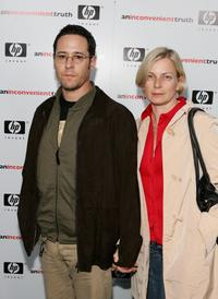 Rob Morrow and wife Debbon Ayer at the Los Angeles premiere of