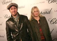 Rob Morrow and Debbon Ayer at the Chopard and Picturehouse's celebration of Oscar nominee Marion Cotillard.