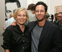 Debbon Ayer and Rob Morrow at the special screening of