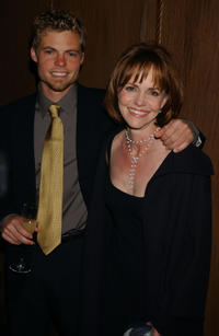 Eli Craig and Sally Field at the Sundance Institute 20th Anniversary in New York.