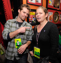Eli Craig and Tracey Snelling at the press and filmmakers reception during the 2010 Sundance Film Festival in Utah.