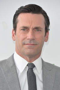 Jon Hamm at the 2014 Film Independent Spirit Awards at Santa Monica Beach in Santa Monica, California.