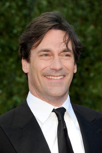 Jon Hamm at the Vanity Fair Oscar party.
