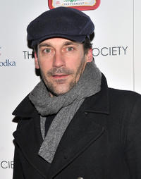 Jon Hamm at the screening of
