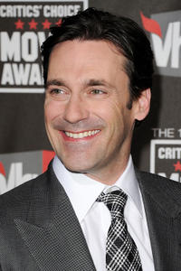 Jon Hamm at the 16th Annual Critics' Choice Movie Awards.