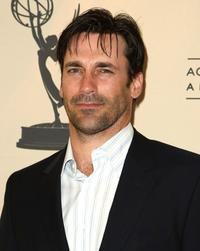 Jon Hamm at the Academy of Television Arts & Sciences panel discussion of