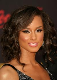 Alicia Keys at the 2007 American Music Awards.