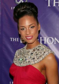 Alicia Keys at the BET Honors.