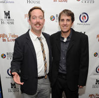 Chris Wylde and director Scott Marshall at the New York premiere of