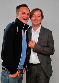 David Anders and Chris Wylde at the 2009 CineVegas Film Festival.