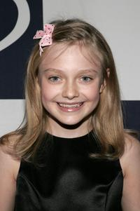 Dakota Fanning at the Rising Stars 50th Anniversary Gala.