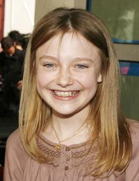 Dakota Fanning at the Los Angeles premiere of