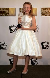 Dakota Fanning at the 11th Annual Critics' Choice Awards.