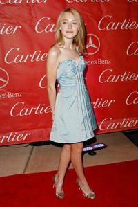 Dakota Fanning at the 20th Anniversary of the Palm Springs International Film Festival Awards.
