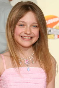 Dakota Fanning at the 20th Annual Kid's Choice Awards.