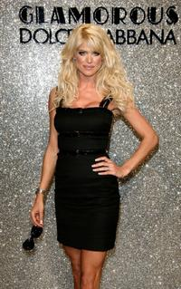 Victoria Silvstedt at the Dolce and Gabbana Party during the 60th International Cannes Film Festival.