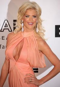Victoria Silvstedt at the amfAR's Cinema Against AIDS 2008 benefit during the 61st International Cannes Film Festival.