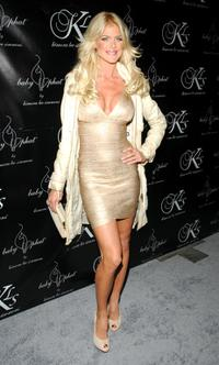 Victoria Silvstedt at the Baby Phat Fall 2008 fashion show during the Mercedes-Benz Fashion Week Fall 2008.