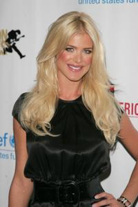 Victoria Silvstedt at the Tommy Hilfiger and George Lois