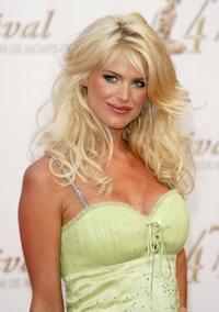 Victoria Silvstedt at the opening night of the 2007 Monte Carlo Television Festival.