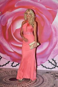Victoria Silvstedt at the 2008 Monte Carlo Rose Ball