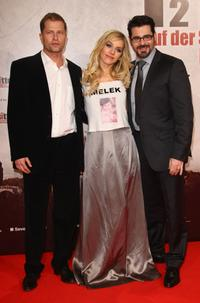 Til Schweiger, Julia Dietze and Rick Kavanian at the Berlin premiere of