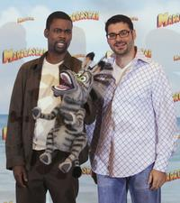 Chris Rock and Rick Kavanian at the German Photocall of