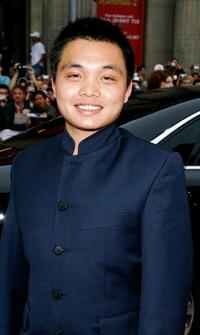 Shaobo Qin at the premiere of