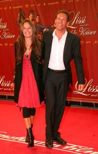 Christian Tramitz and Anette Tramitz at the premiere of