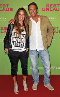 Anette and Christian Tramitz at the Germany premiere of