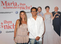 Anette and Christian Tramitz at the world premiere of