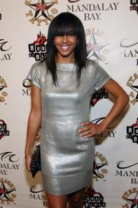 Marsha Thomason at the grand opening of Mario Barths Starlight Tattoo.