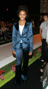 Marsha Thomason at the Louis Verdad Spring 2006 show.
