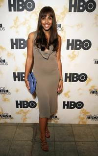 Marsha Thomason at the Black Movie Awards HBO after party.